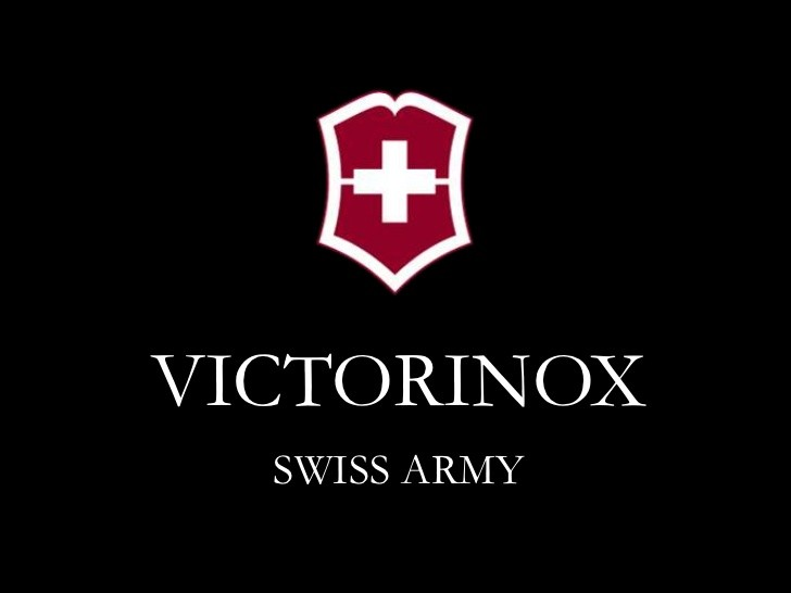 Swiss Army Products